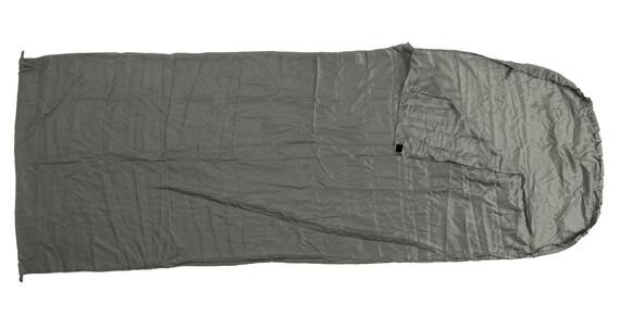 Basic Nature saco sábana de seda - Sacos de dormir - Saco sábana gris